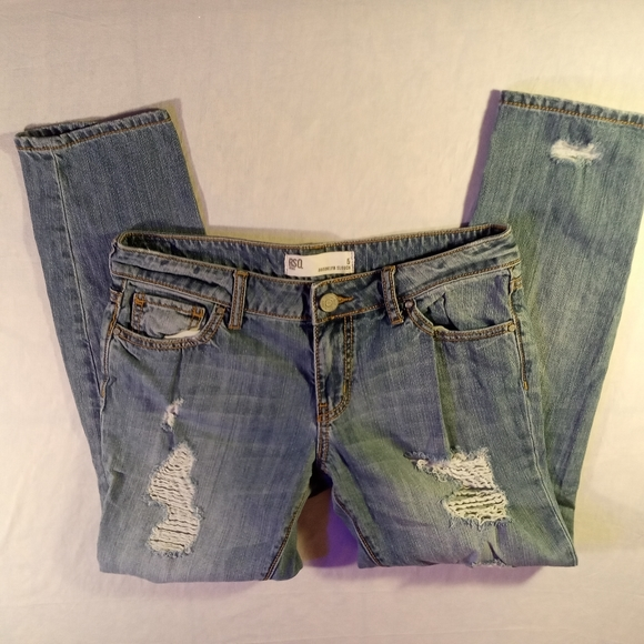 """RSQ Denim - RSQ Jeans🇺🇲""""Brooklyn Slouch"""" Distressed jeans 5"""